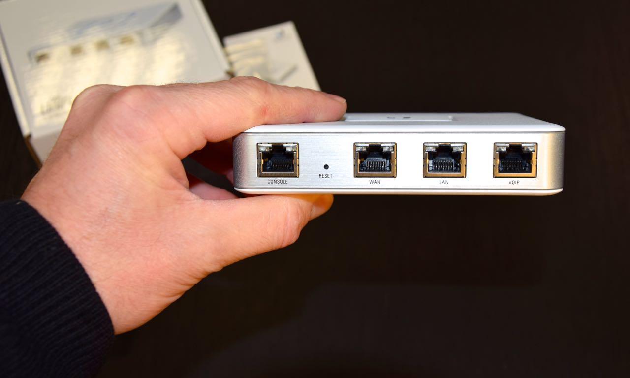 Ubiquiti UniFi Security Gateway: Unboxing, Setup und