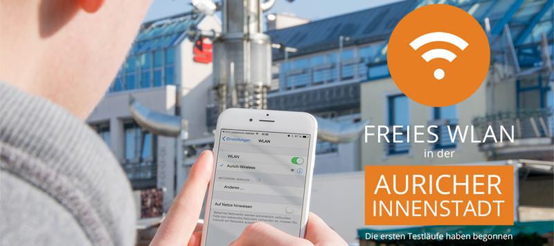 Aurich-Wireless: Kostenloses WLAN in Aurich/Ostfriesland
