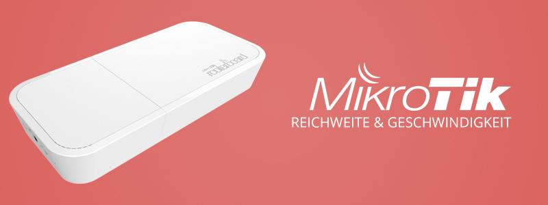 MikroTik wAP ac – Reichweite & Geschwindigkeit