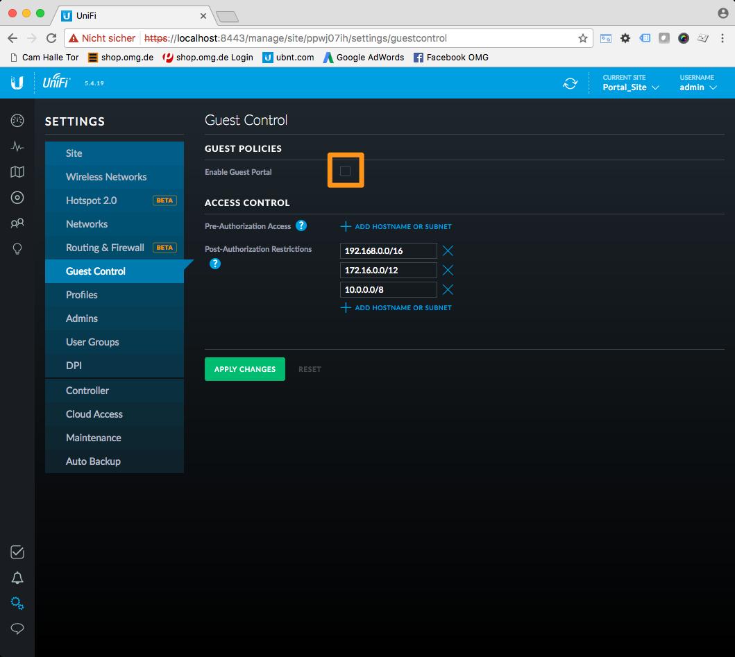 UniFi Gäste-Portal individuell gestalten - makes IT work