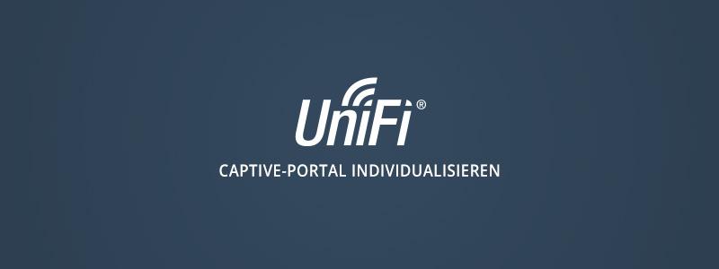 UniFi Gäste-Portal individuell gestalten