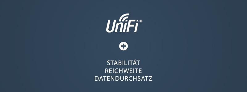 Optimierung der WLAN Einstellungen eines UniFi APs