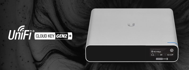 UniFi Cloud Key Gen2 Plus – der Alleskönner
