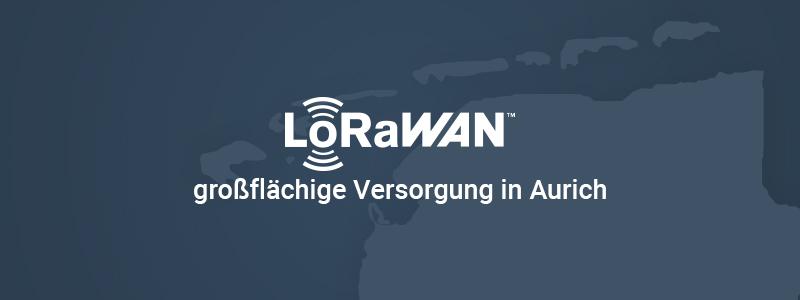 Das Internet der Dinge: LoRaWAN in Aurich-Ostfriesland