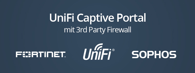 UniFi Guest Portal mit 3rd Party Firewall