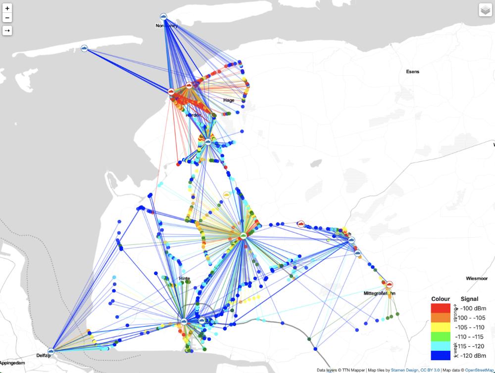 TTN-Mapper mit GPS-Tracker