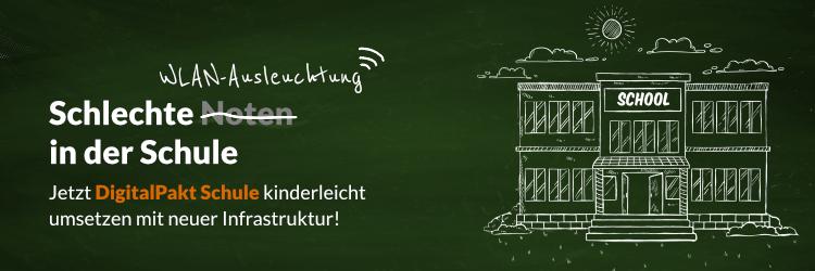 DigitalPakt Schule mit einem FREE AP von Cambium Networks
